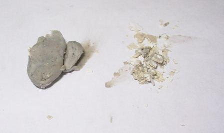 Пластичные и сухие отложения замещающих водорастворимых смазок